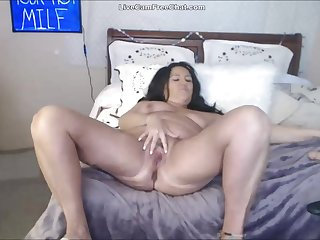 50 Year Old Big Mom Anal and Squirting Totally