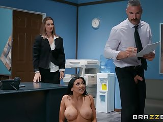 There is nothing better for Audrey Bitoni than a sex on the office table