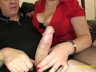 Big rear housewife  - big backside