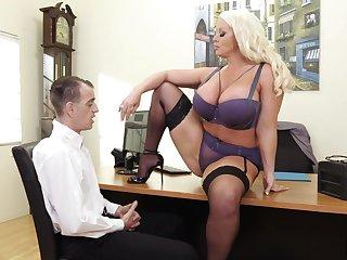 Alura Jenson Crazy Office Sex