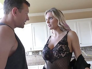 Super curvaceous MILFie cowgirl Kenzie Taylor rides fat sloppy cock wild