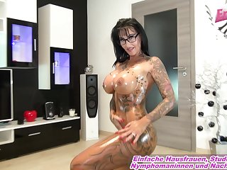 german big tits tattoo milf homemade ride