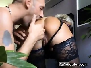 young slave ass lick hot mature