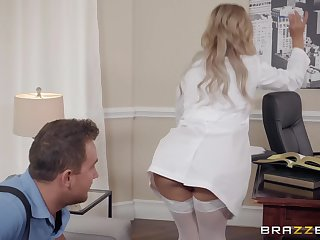 ready for the lifetime experience stunning Cherie DeVille spreads her legs