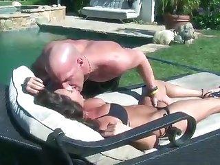 Sky Taylor fucks a shaved man - hot MILF sex