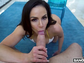 Fantastic MILF with gorgeous big bubble ass Kendra Lust is poked from behind