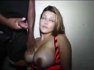 LATIN mommy BLOWING BIG BLACK PENIS STRANGER!!!!