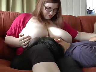 My best friend's bbw wife with very big boobs likes when I fuck her pussy