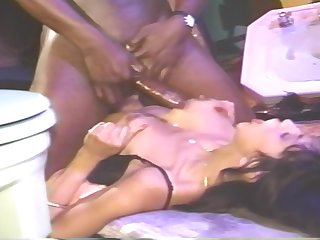 Retro Fro On Black Dude Fucking Married Milf