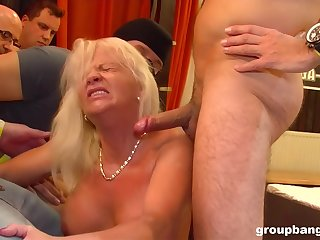 GroupBanged - Milf Groupbanged Babe Aniko Loves To Squirt
