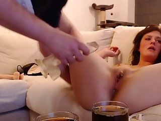 Hardcore - Analfuck , Blowjob and Dildoplay