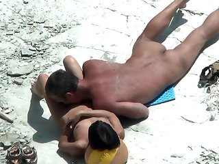 Gorgeous Amateur Milfs Nude Beach Voyeur Close Up Pussy