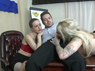 Mommy join daughter for a hot hardcore threesome