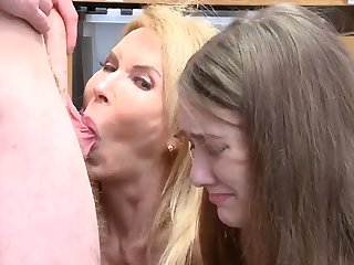 Mom caught sucking dick first time Suspects grandmother