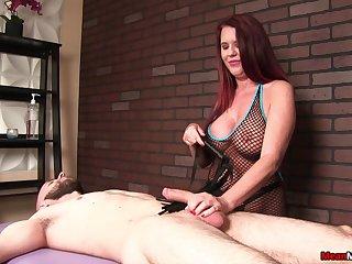 Big tits woman Grace Evangeline loves to pleasure her clients