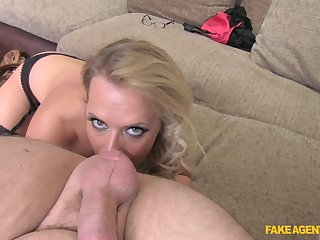 Excellent POV sex and nudity by blonde Sasha Steele