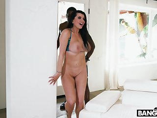 Busty MILF Romi Rain takes BBC like a champ and she got an ass on her