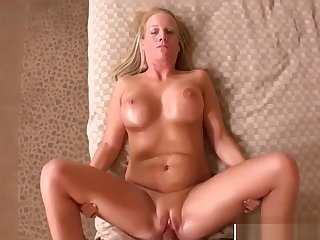 Perfect Body Mother In Law Erin Bangs Sweet Touching Dad's Friend