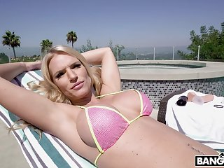 Interracial outdoors fucking with nice tits blondie Rachael Cavalli