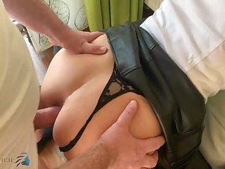Hot chubby MILF amazing sex video