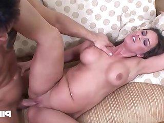 Emily Anderson - The Pig Lady Fucks The Horny Guy - Handjob