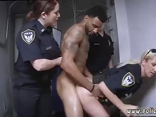 Light-Haired police gal is loving like never before while getting porked, instead of doing her job