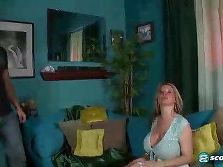 Immense breasted light-haired dame who determined to become a sex industry star, is getting ravaged highly stiff