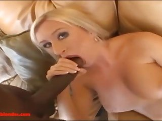 big boned mommy MILF with huge twat takes huge black penis