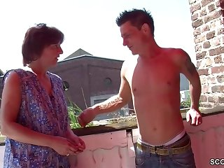German Step-Mother I´d Like To Fuck Seduce Her Step-Son to Make Love her