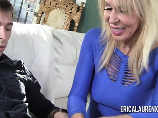 Porn Star mature Erica Lauren has a thing for younger men