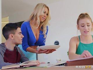 Lustful MILF with huge boobs gets nailed by Jordi El Nino Polla